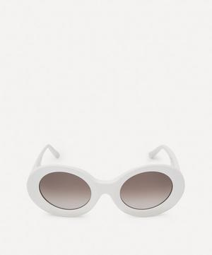 Acetate Show Round Sunglasses