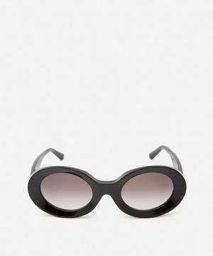 Acetate Show Round Sunglasses