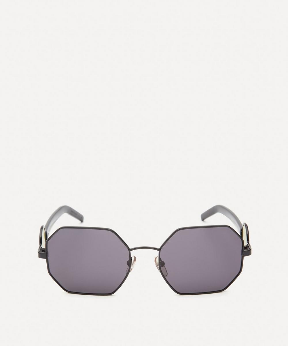 Marni - Metal Hexagonal Sunglasses