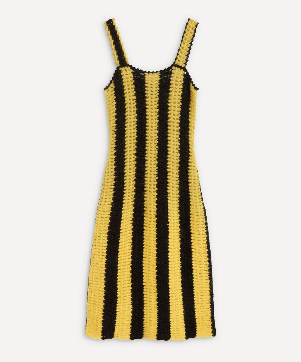 MOZH MOZH - Leba Striped Knitted Dress image number 0