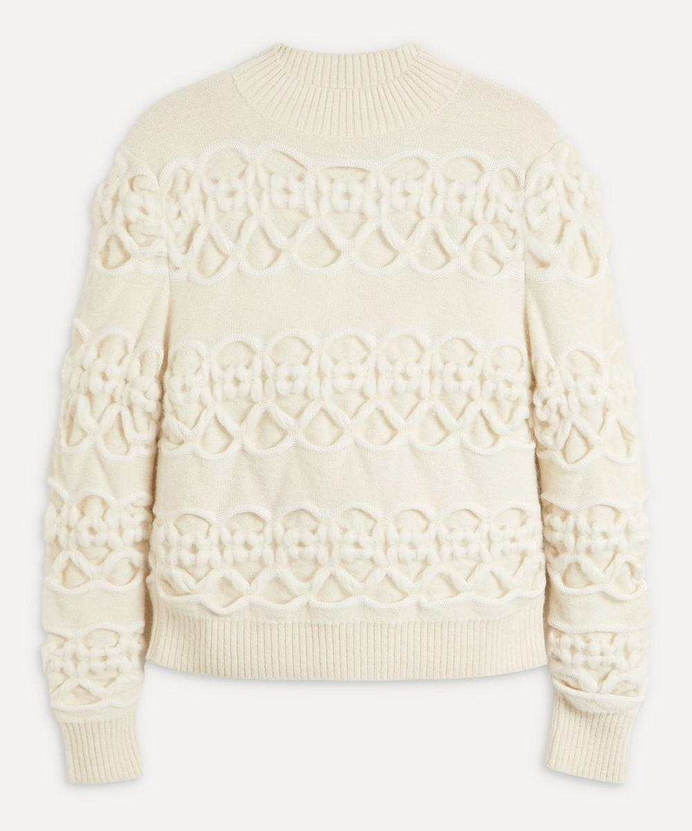 MOZH MOZH - Power Cable Knit Alpaca-Blend Jumper