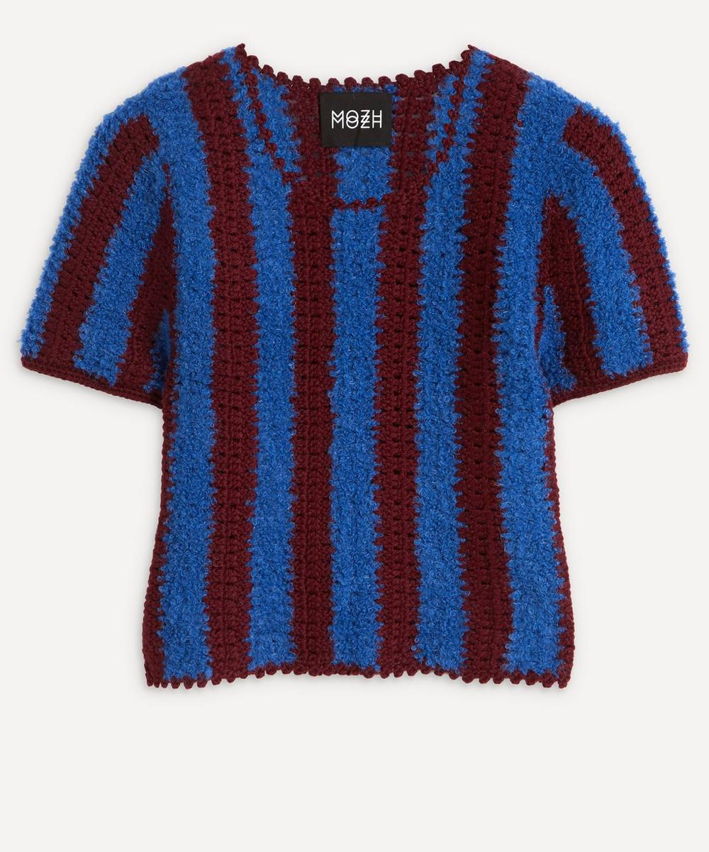 MOZH MOZH - Bulu Stripe Knit T-Shirt