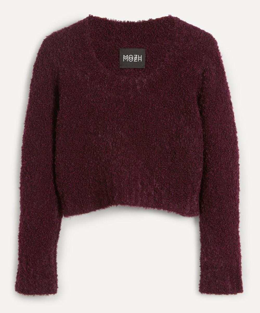 MOZH MOZH - Maya Super-Fine Scoop-Neck Jumper