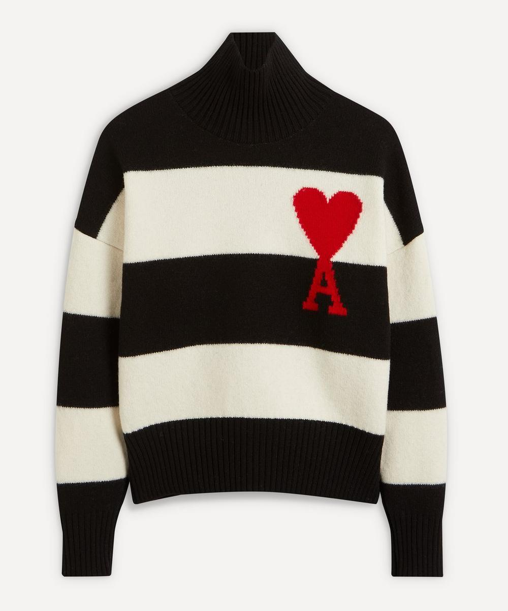 Ami - Ami de Cœur Striped Sweater
