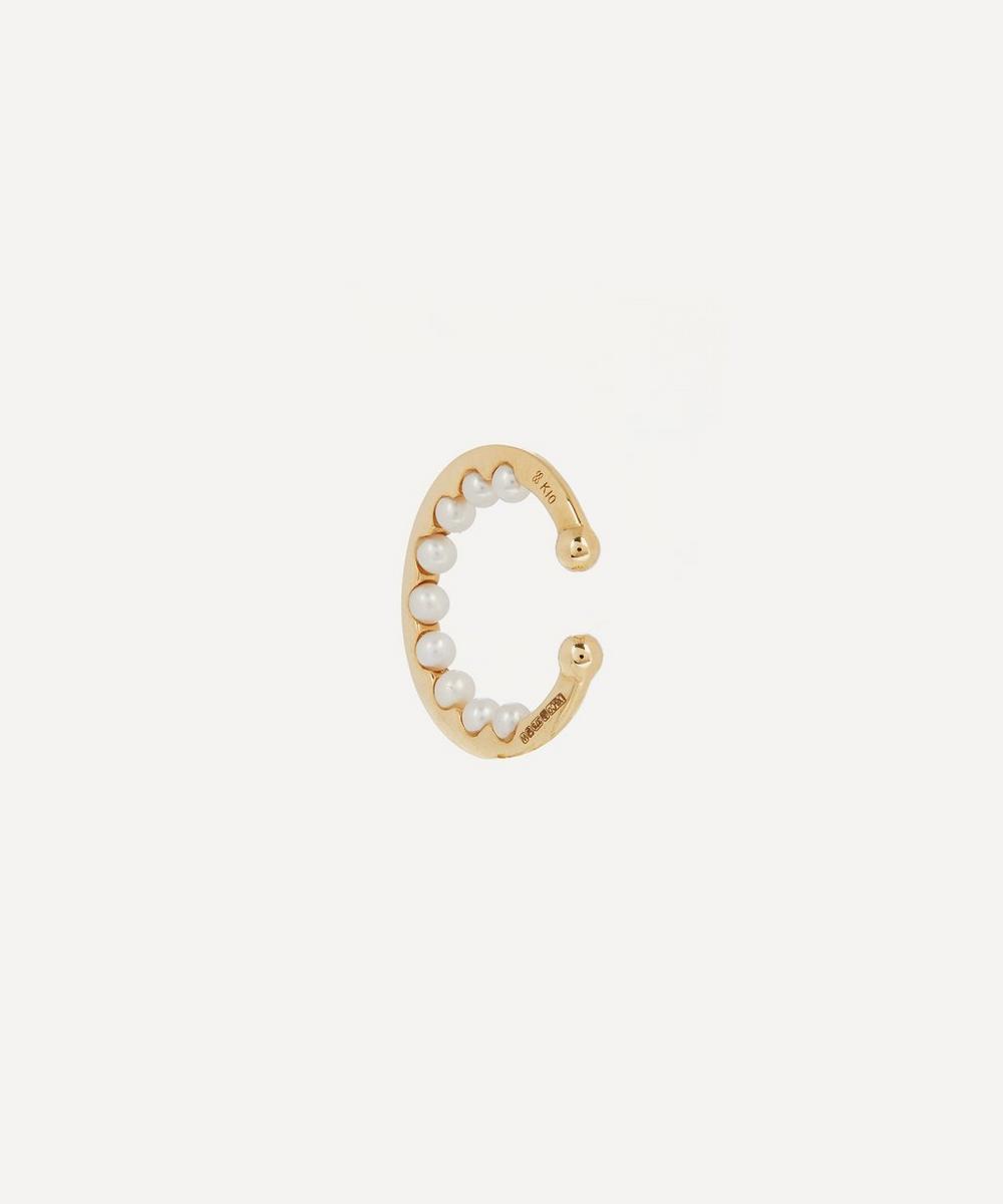 Hirotaka - Gold Baby Pearl Ear Cuff