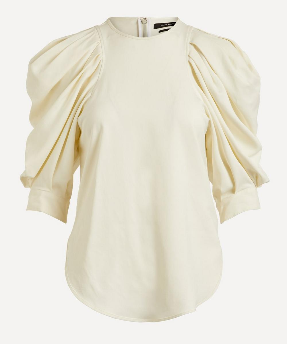 Isabel Marant - Surya Exaggerated Sleeve Top