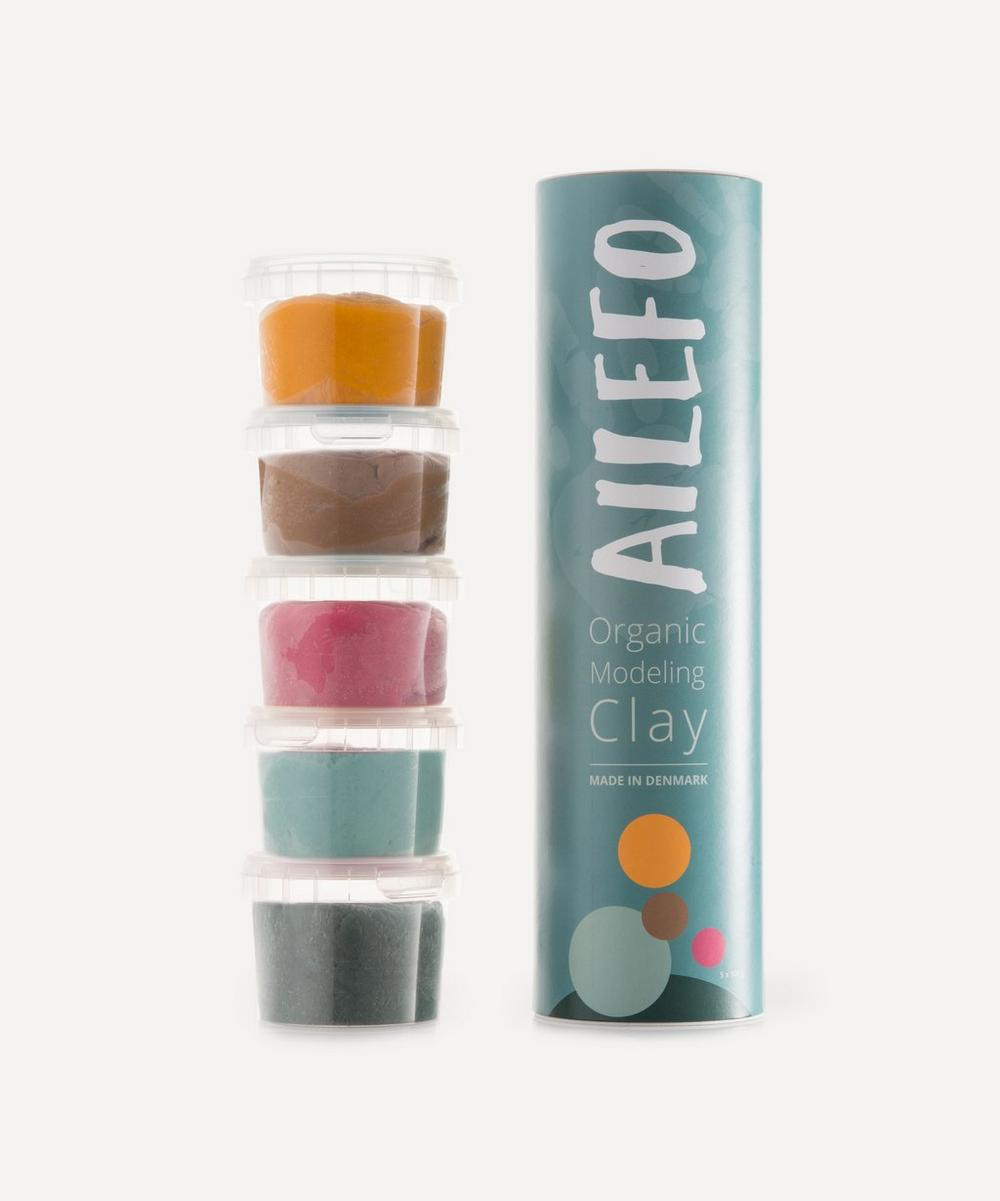 Ailefo - Small Organic Modelling Clay Tube - Basic Colours