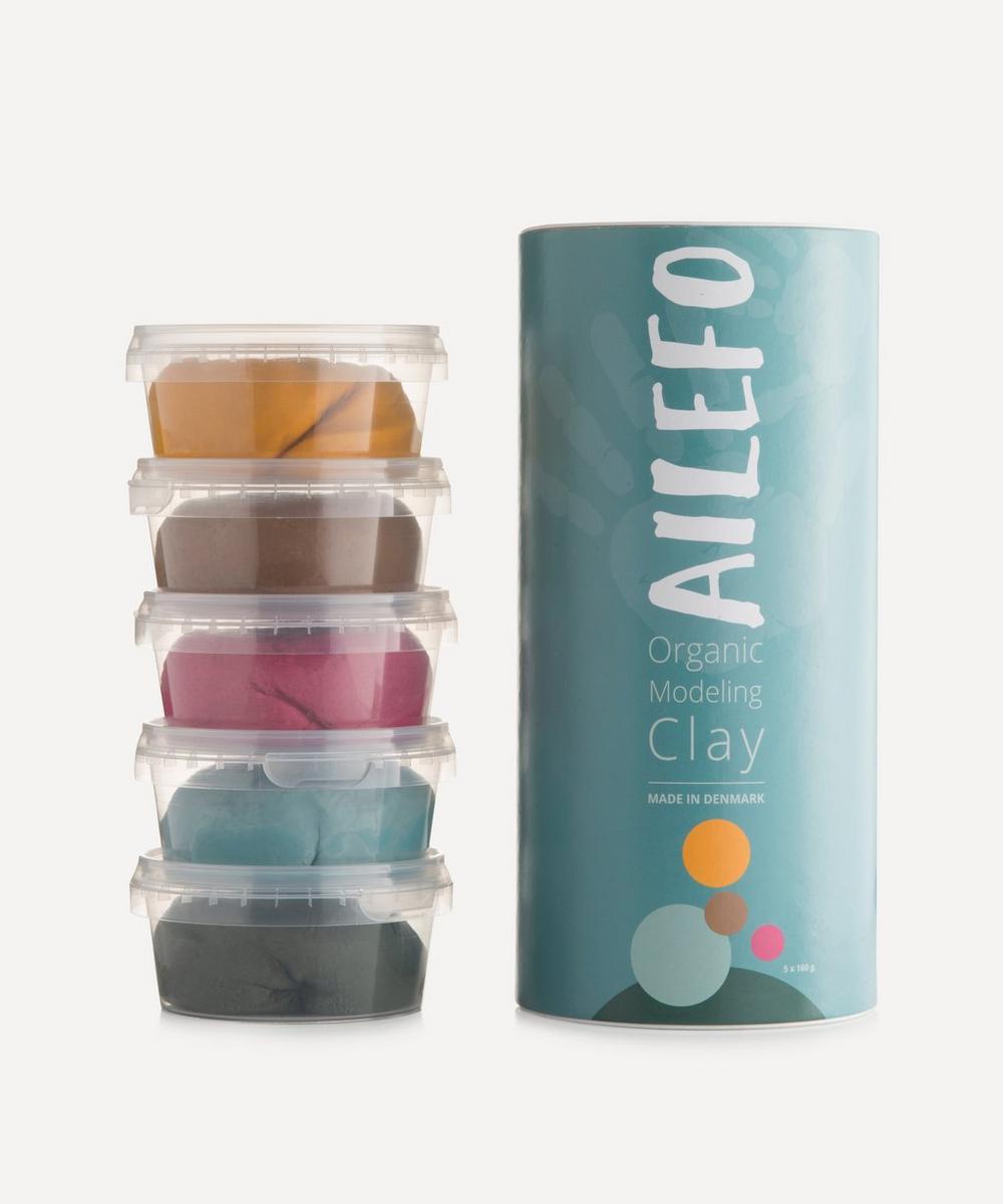 Ailefo - Large Organic Modelling Clay Tube - Basic Colours