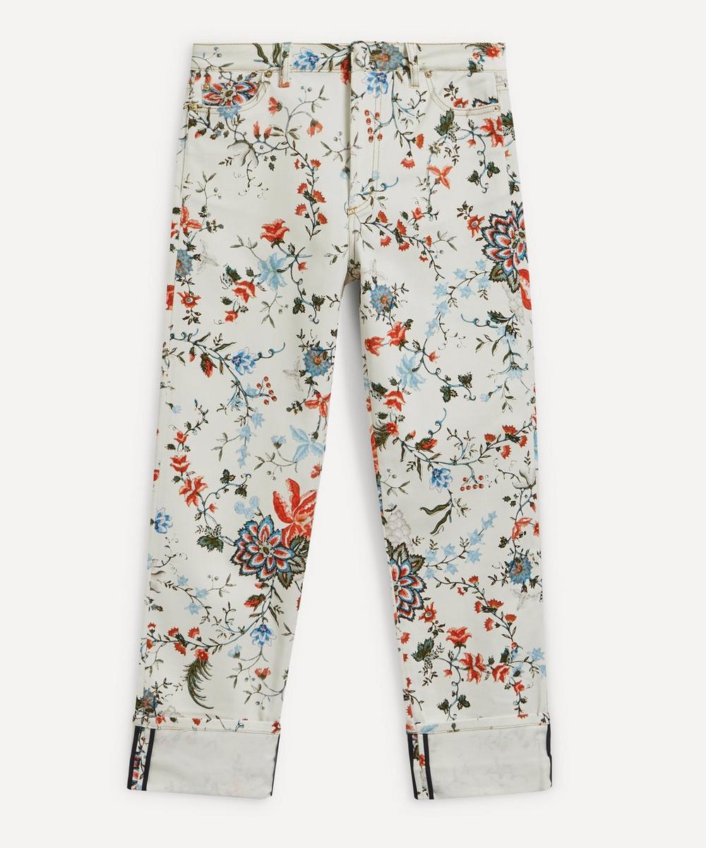 Erdem - Nathaniel Floral Print Jeans
