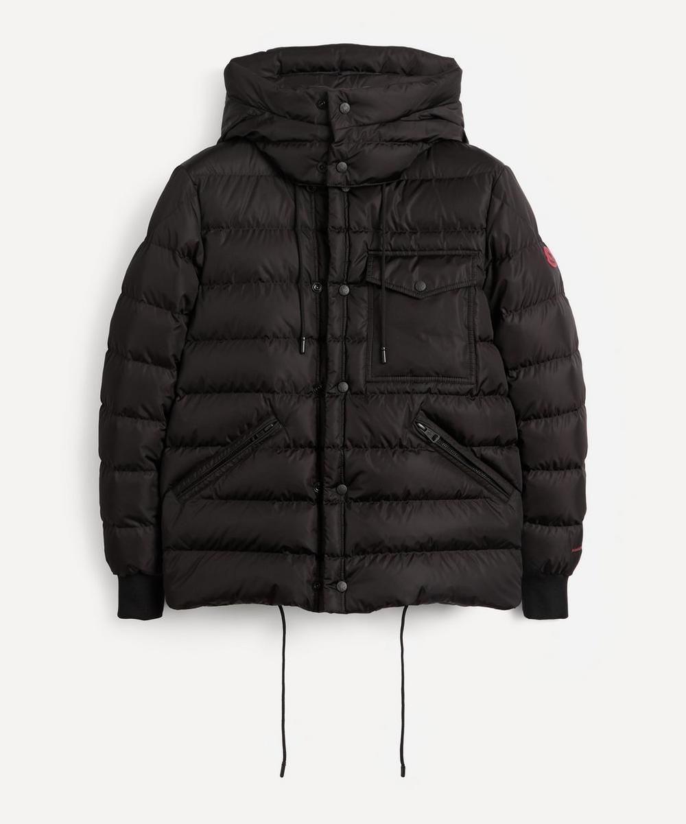 Moncler - Exclusive Born To Protect Gaite Recycled Nylon Snap Front HD Padded Jacket