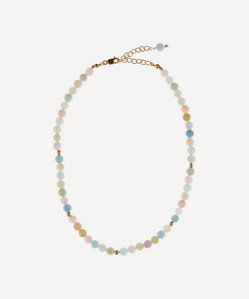 AURUM + GREY - Candy Rainbow Bubble Bead Necklace