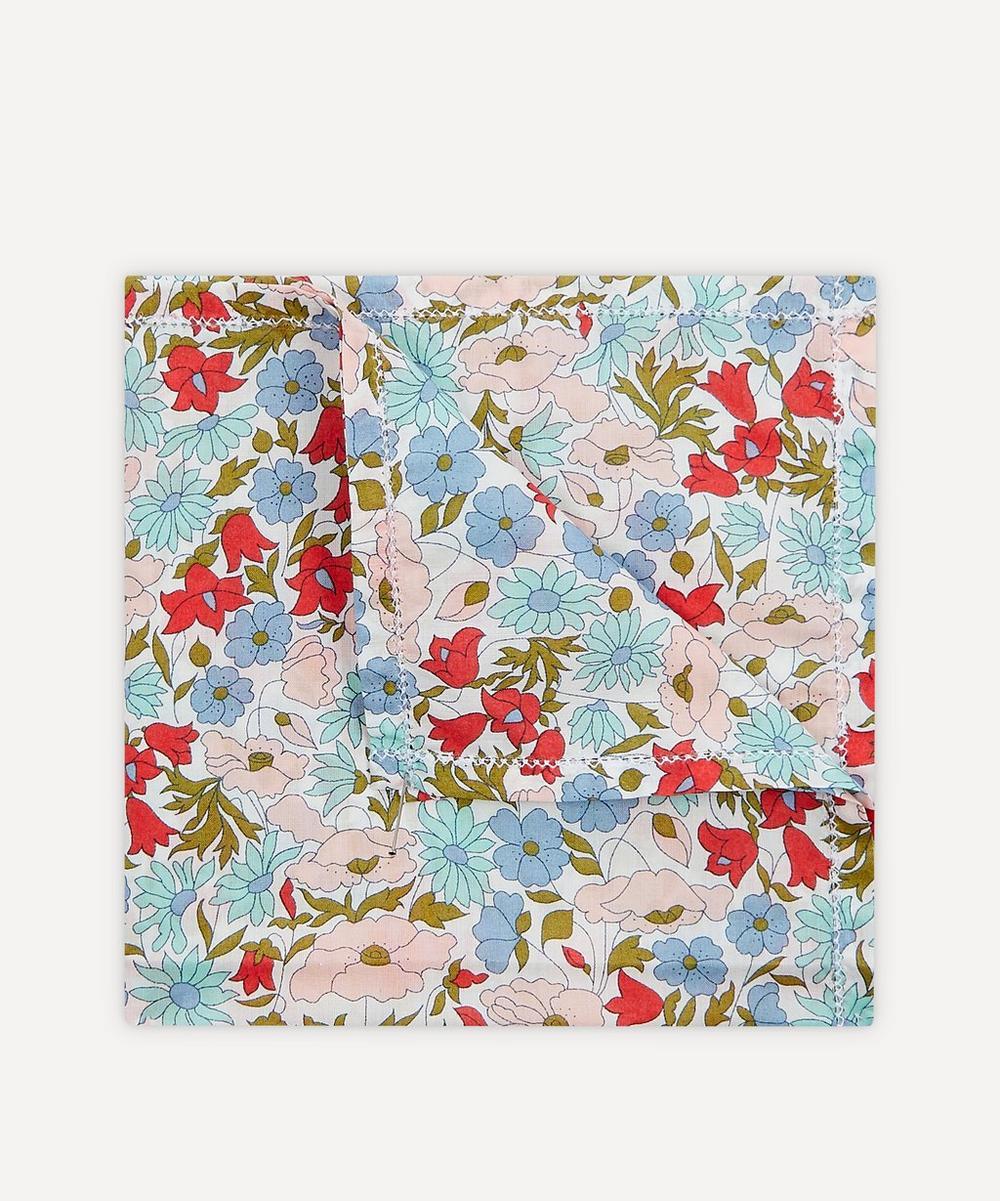 Liberty - Poppy and Daisy Small Cotton Handkerchief