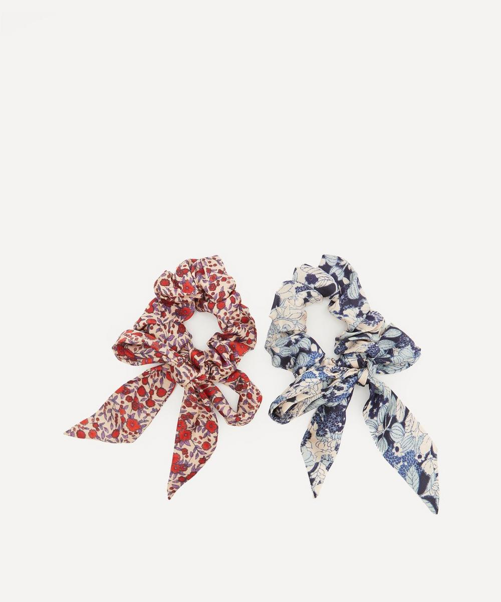 Lily and Lionel - Lotus Satin Scrunchies Pack of Two