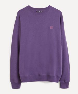 Face Oversized Cotton Sweater