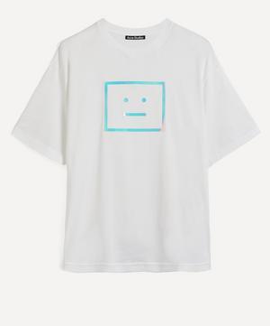Metallic Face Oversized T-Shirt
