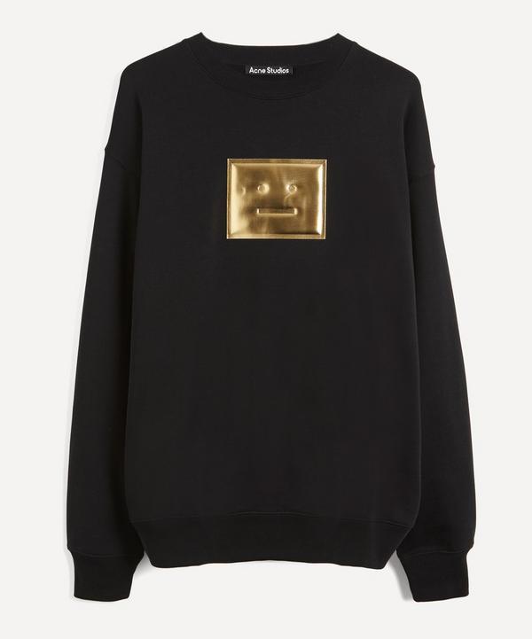Acne Studios - Metallic Face Oversized Cotton Sweater