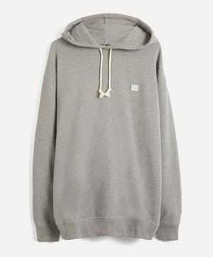 Face Oversized Cotton Hoodie