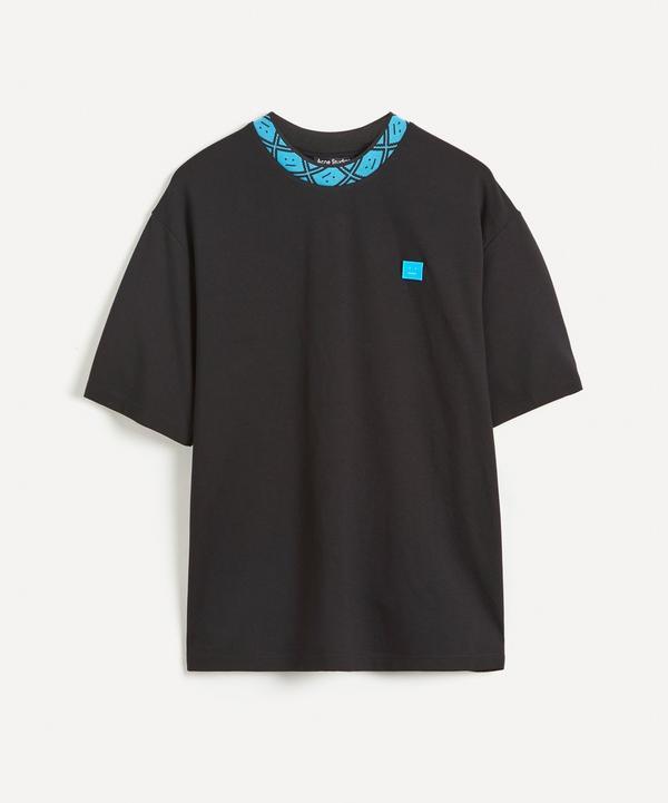 Acne Studios - Face Collar Cotton T-Shirt