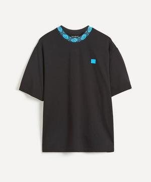 Face Collar Cotton T-Shirt