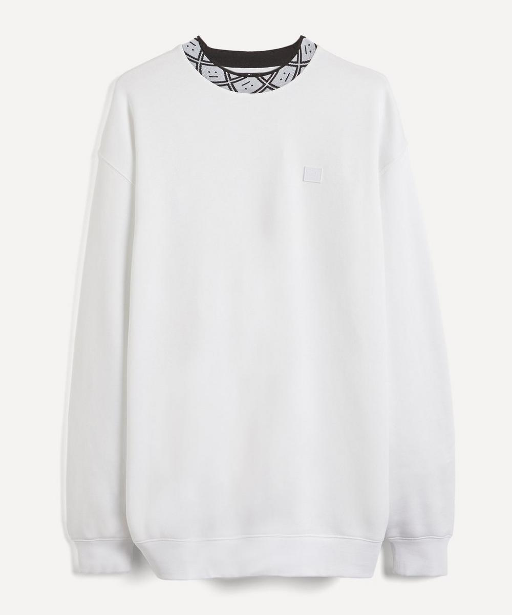 Acne Studios - Future Face Collar Sweater