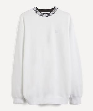 Future Face Collar Sweater