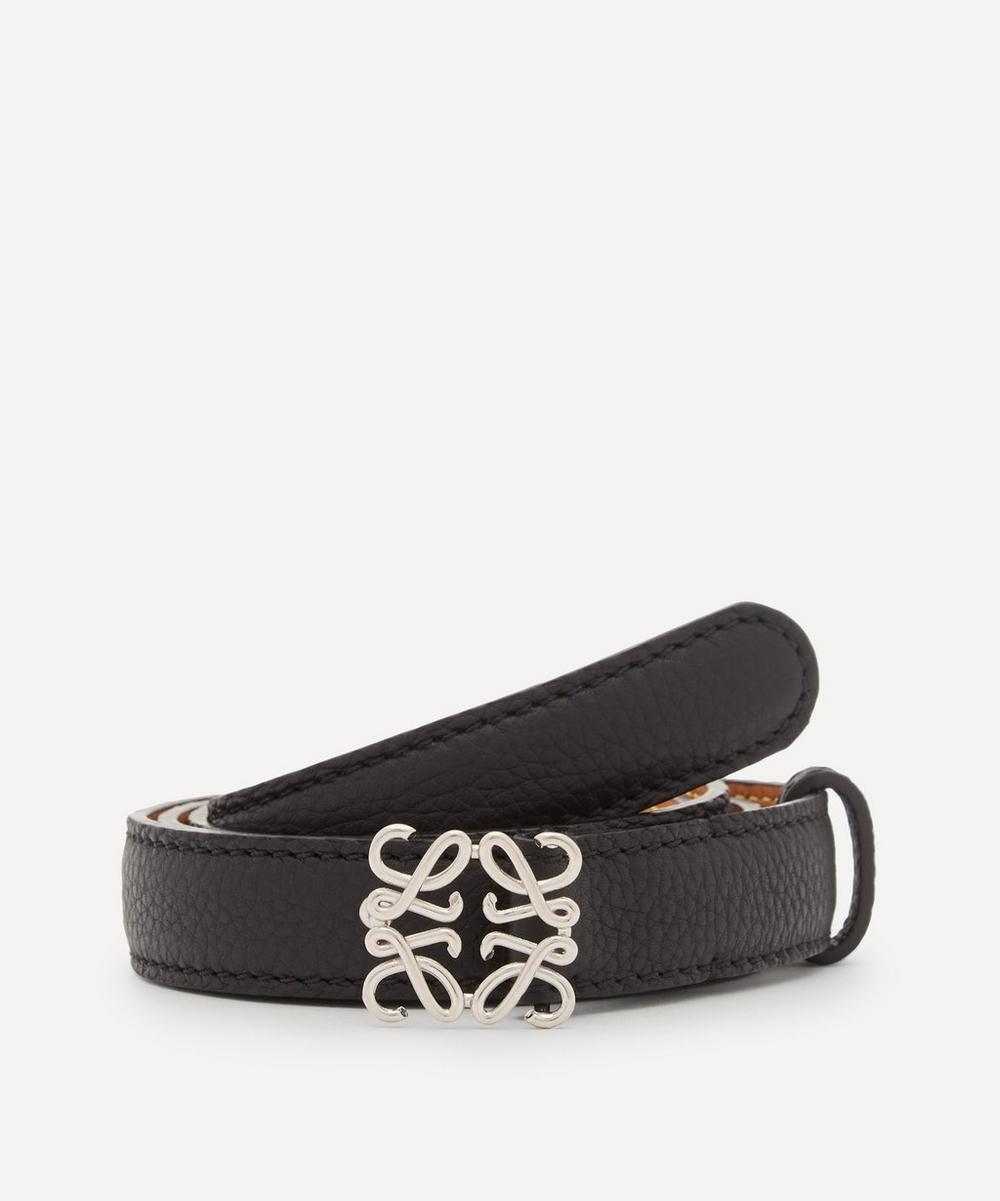 Loewe - Anagram Buckle Leather Belt