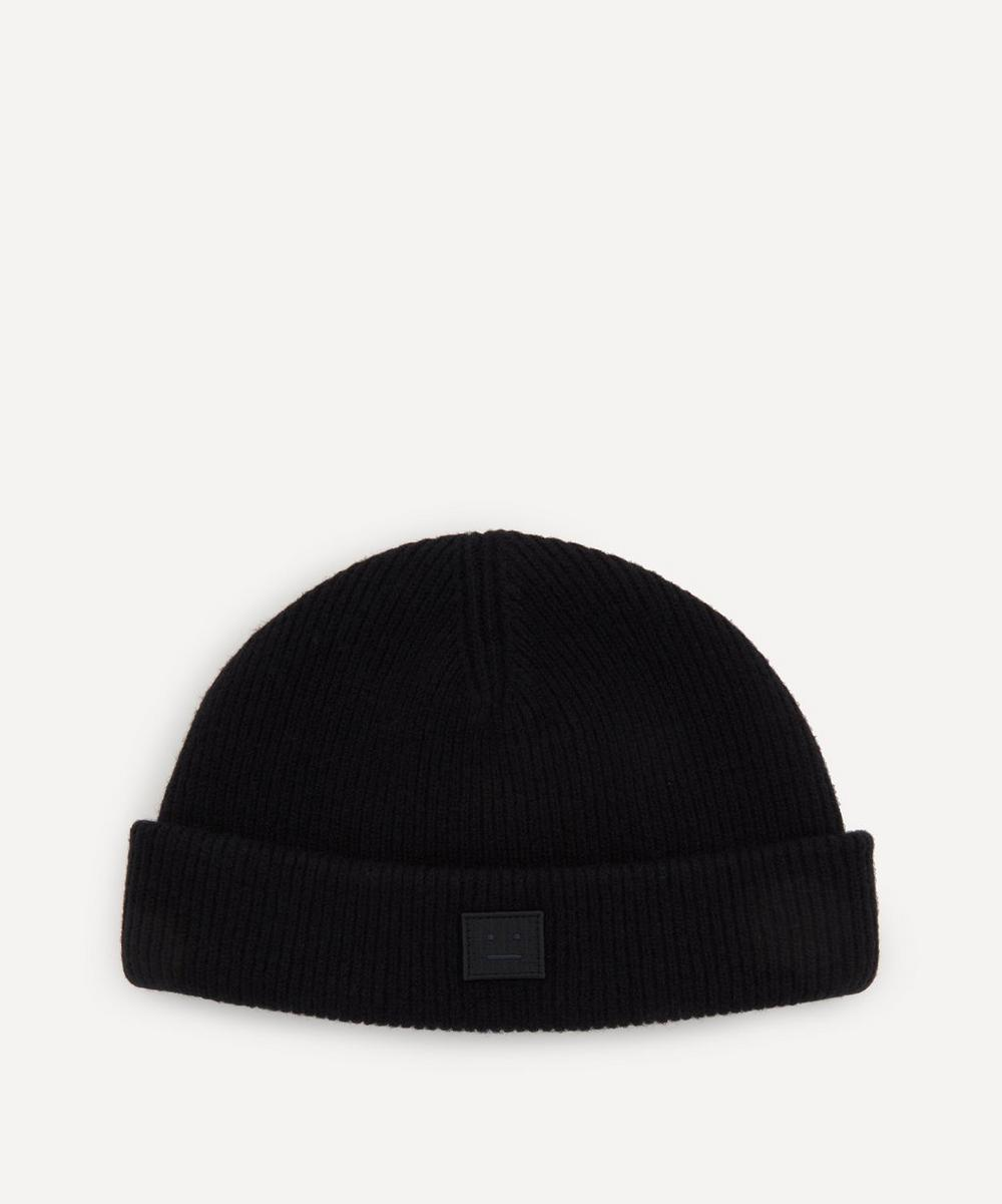 Acne Studios - Rib Knit Beanie Hat image number 0