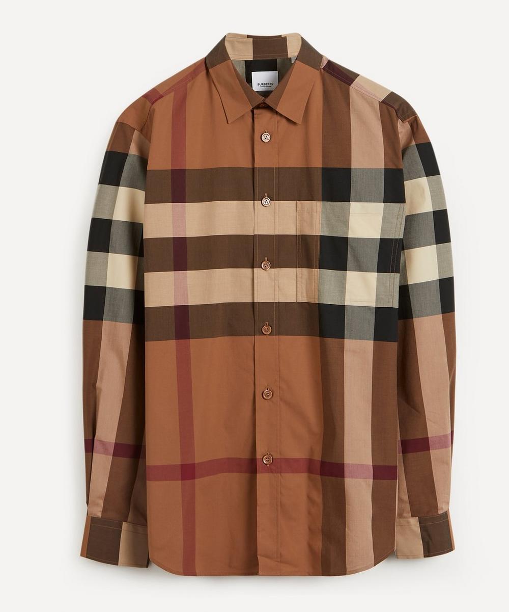 Burberry - Chadbury Birch Check Cotton Shirt