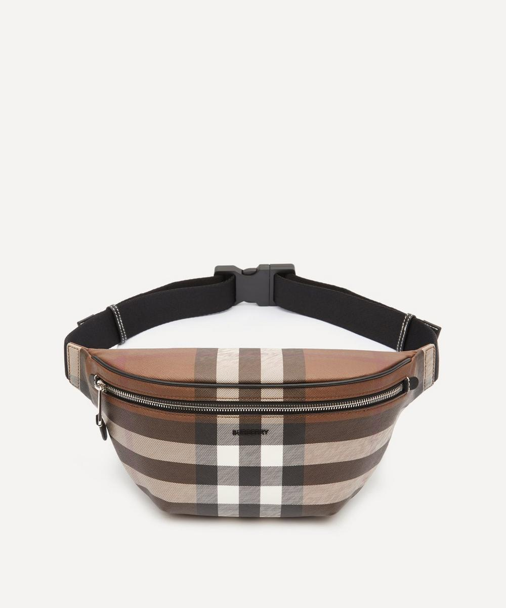 Burberry - E-Canvas Check Bum Bag