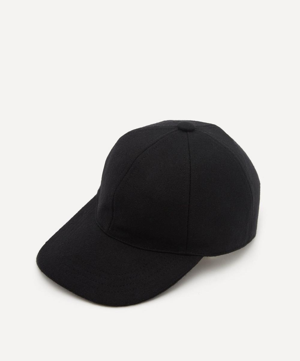Christys' - Melton Wool Baseball Cap