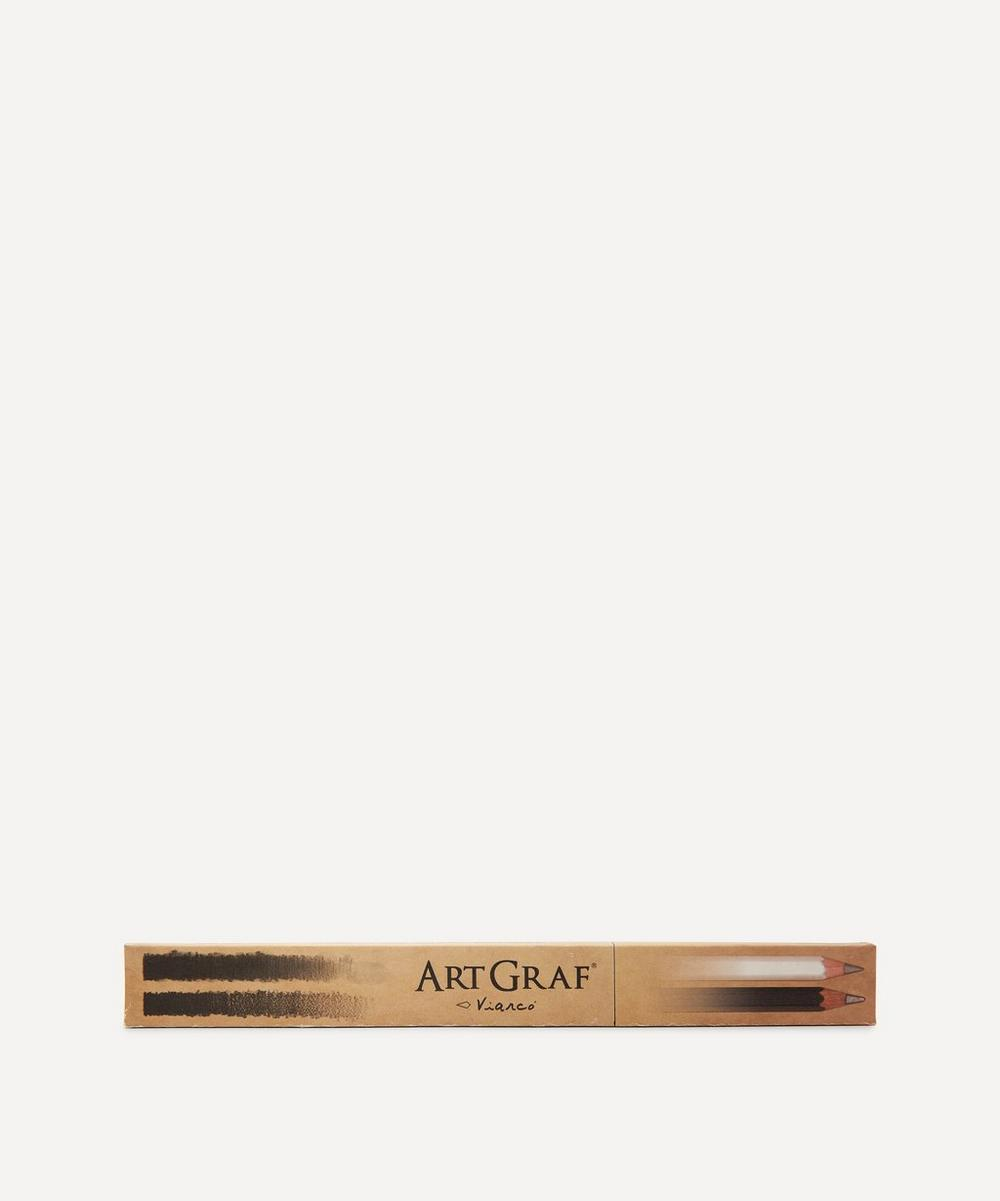 ArtGraf - Twins Soft Black and Water-Soluble Pencil Set