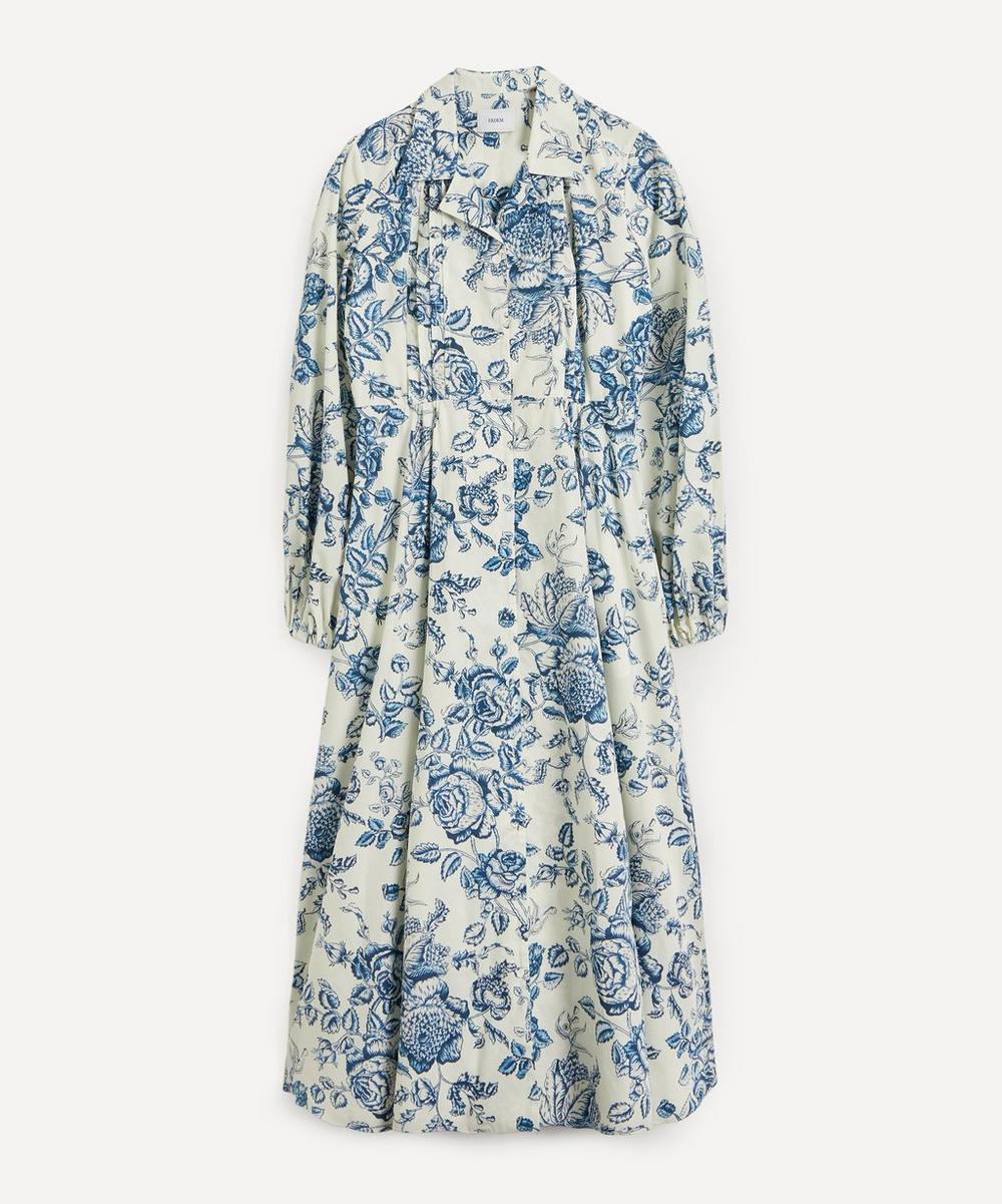 Erdem - Kendrick Toile de Jouy Cotton-Poplin Midi Dress