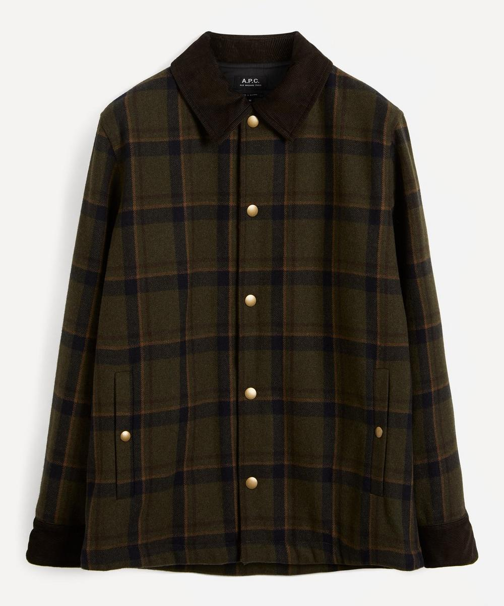 A.P.C. - Alan Check Wool Jacket