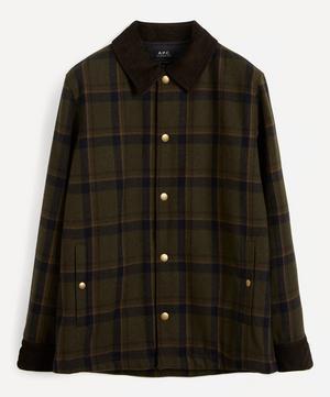 Alan Check Wool Jacket