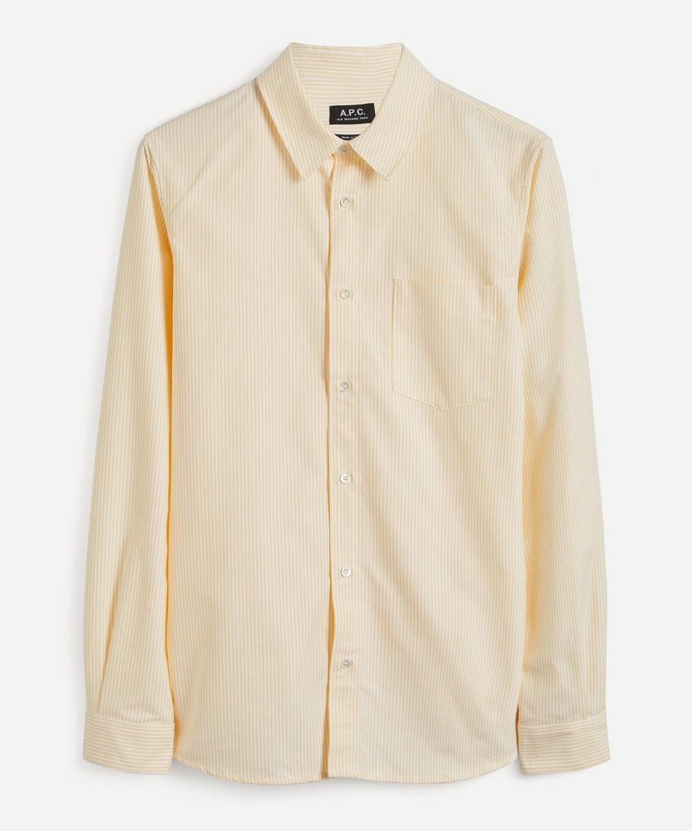 A.P.C. - 92 Cotton Oxford Shirt image number 0