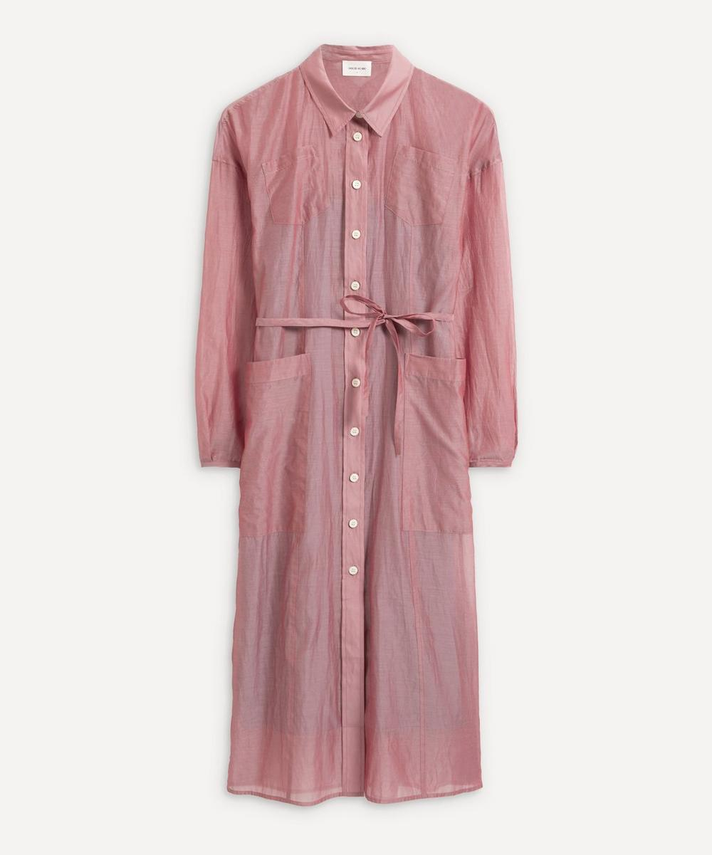 Wood Wood - Bethany Linen Shirt-Dress