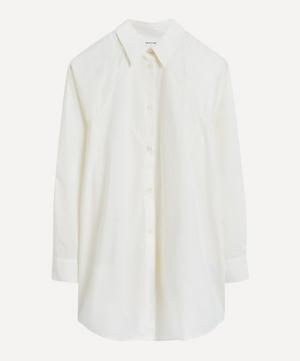 Greta Long Cotton-Poplin Shirt