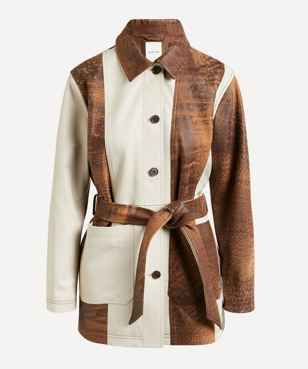 Wood Wood - Angie Belted Leather Coat