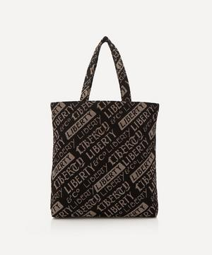 Jacquard Liberty Logo Tote Bag