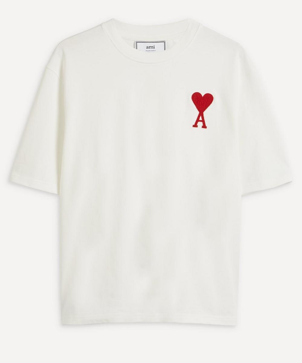 Ami - Large Ami de Cœur Logo T-Shirt