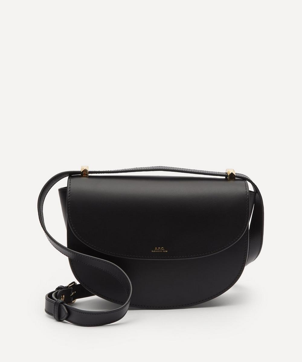 A.P.C. - Genève Leather Cross-Body Bag