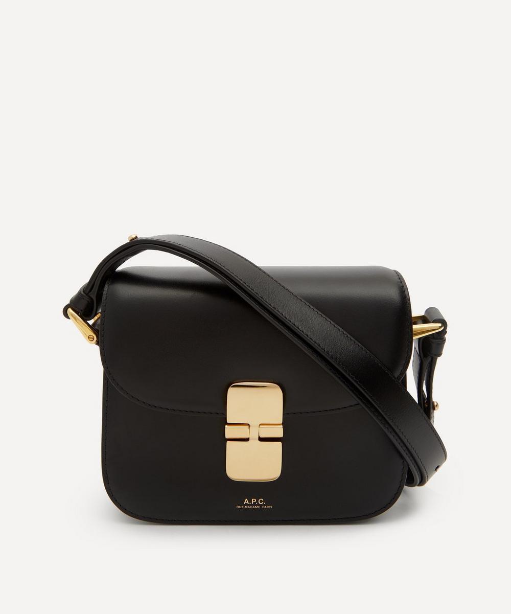 A.P.C. - Grace Mini Leather Cross-Body Bag