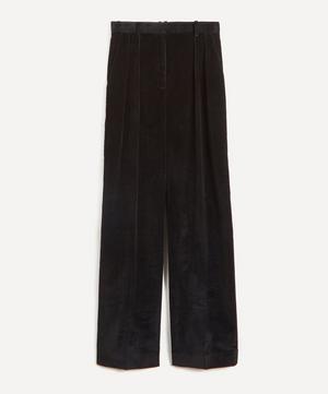 Chandler Wide-Leg Corduroy Trousers