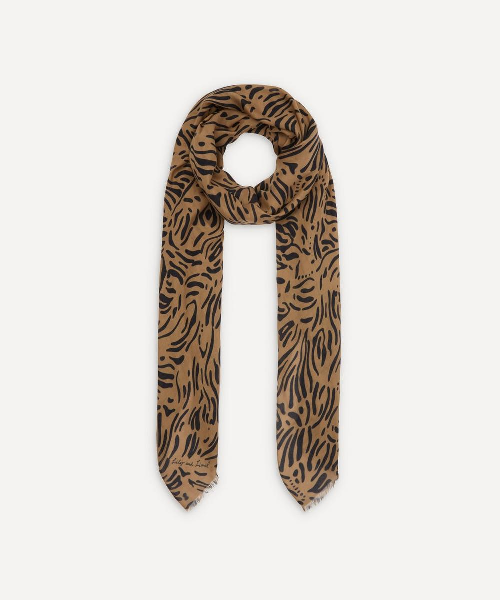 Lily and Lionel - Hidden Zebra Modal-Blend Scarf