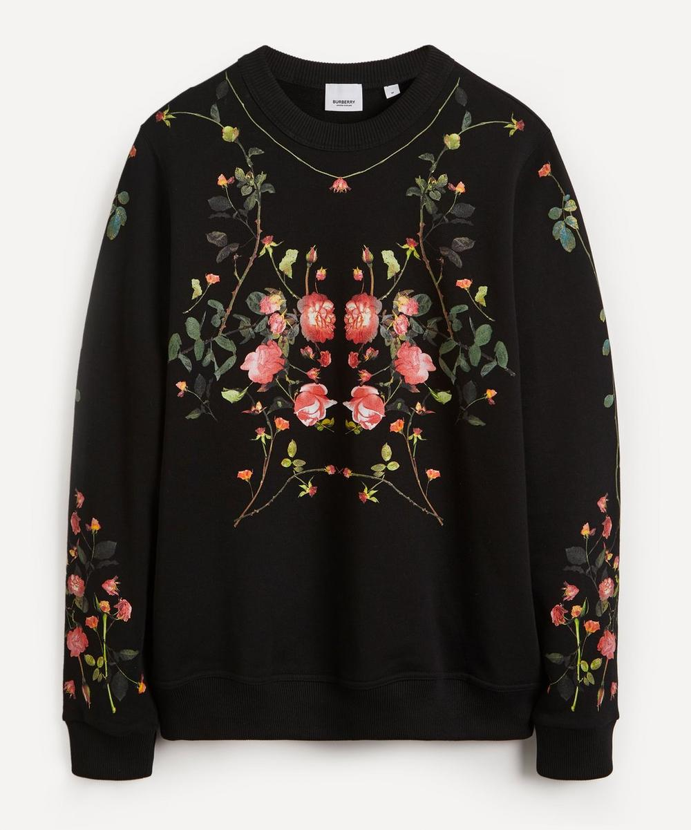 Burberry - Fairhall Flowers Crew-Neck Sweater