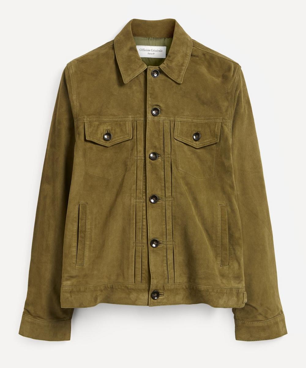 Officine Générale - Liam Suede Leather Jacket