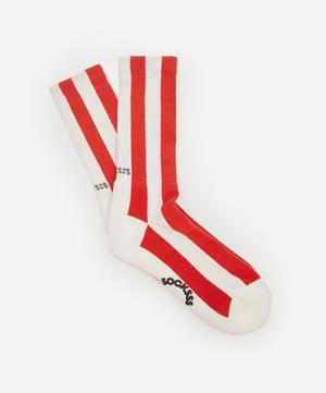 Polka Striped Socks