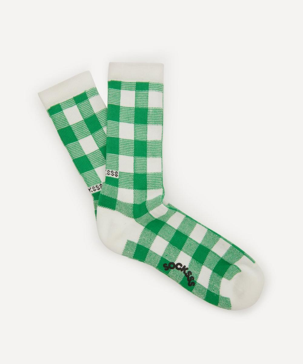 Socksss - Pebble Beach Gingham Socks