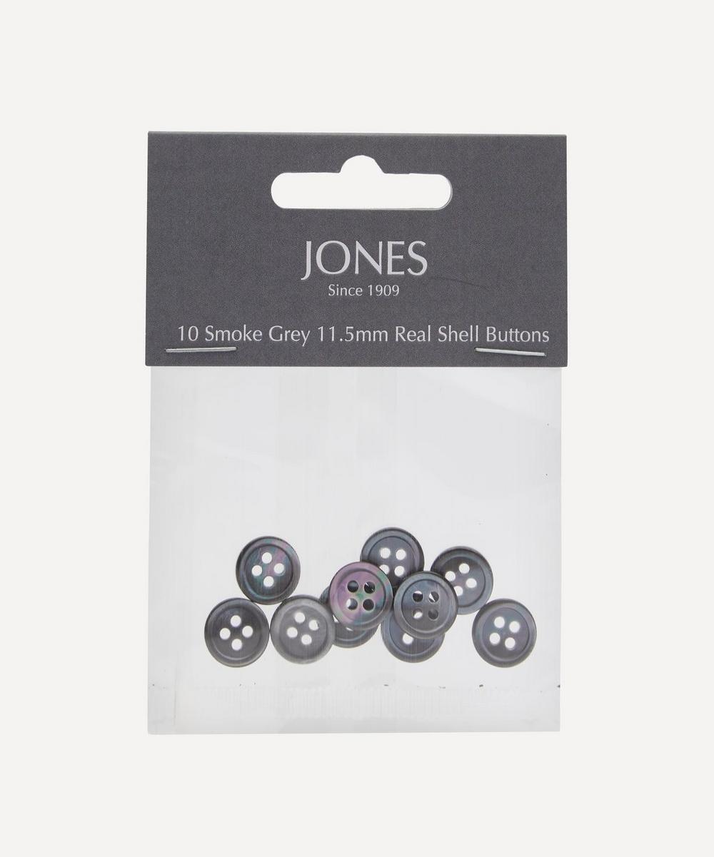 Jones Buttons - Shell 11.5mm Shirt Buttons – Pack of 10