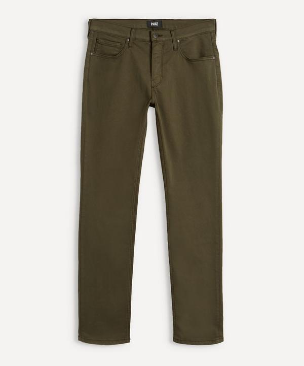 Paige - Federal Laurel Oak Jeans